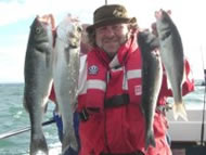 Bass fishing in the Bristol Channel