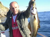 Pollack fishing in the Bristol Channel