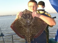 Thornback Ray fishing in the Bristol Channel