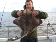 Bristol Channel Thornback Ray Fishing