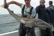 Tope fishing in the Bristol Channel